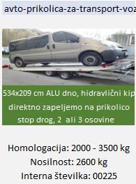 """avto-prikolica-za-transport-vozil"""""""