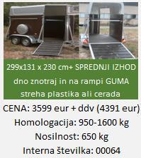 """prikolica-prevoz-govedi-živali"""""""