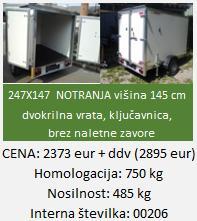 """tovorna-avtoprikolica-boks-kovček"""""""